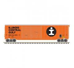 Atlas #20006584 50' Postwar Double Door Boxcar Ilinois Central Gulf #515585