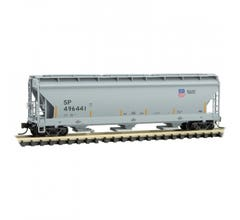 Micro Trains #09400602 3-bay Covered Hopper - Union Pacific #496441