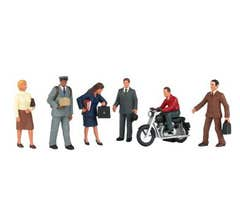 Bachmann #33151 City People with Motorcycle