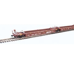 Walthers #910-55621 Thrall 5-Unit Rebuilt 40' Well Car - BNSF Railway #238158 A-E