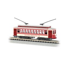 Bachmann #61087 United Traction - Brill Trolley