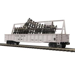 MTH #20-95138 Gondola Car w/ScaleTrax O-31 Switch - Union Pacific