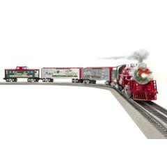 Lionel #2123100 Christmas Light Express LionChief Set w/ Bluetooth 5.0