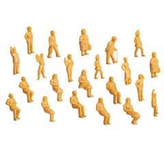 Lionel #1930300 Unpainted Figures 36-Pack