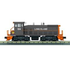 MTH #30-20837-1 SW1500 Diesel Switcher w/Proto-Sound 3.0 - Long Island (Gray/Orange - Trainworld) # 104