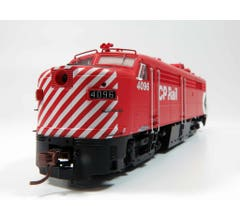 """Rapido #21566 Alco FPA-2 Locomotive w/DC/DCC&Sound - CP Multimark 5"""" Stripe #4097"""