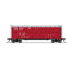 Broadway Limited #6595 Union Stock Yards Stock Car No Sound 2-pack