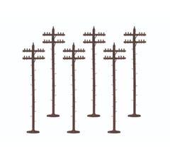 Lionel #37851 Scale Telephone Poles- Standard
