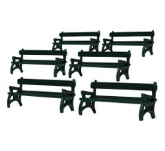 Lionel #1930180 Benches 6-Pack