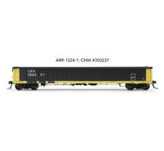 "Arrowhead Models HO ARR-1224-1 CNW #350237 Greenville 2494 ""Railgon"" Gondola"