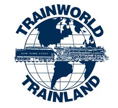 TrainWorld Aluminum Sign #TL2Logo 12x12