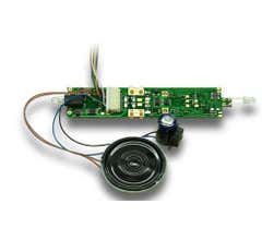 Digitrax #SDH164K1A 1 Amp HO Scale Board Replacement Mobile/Sound/Function Decoder for Kato AC4400 Locos