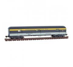 Micro Trains 14900410 70' Heavyweight Horse Car - C&O Chesapeake Ohio Rd# 212