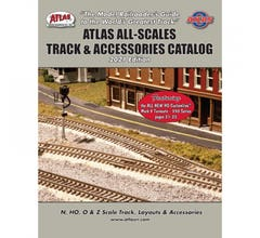 Atlas #0104-4 All Scales Track & Accessory Catalog