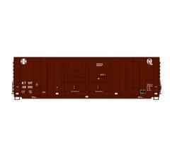 Intermountain #6133003 Gunderson 50' High Cube Double Door Boxcar - Santa Fe - Quality