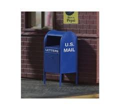 PIKO #62297 US Mail boxes (4 pcs)
