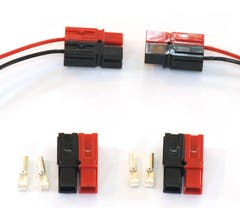 NCE #5240291 24 Anderson power poles, 12 red, 12 black, 12-16 AWG AND-24