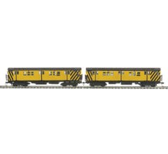 MTH #80-2371-1 MTA R-17 2-Car Subway Set w/Proto Sound 3 - Metropolitan Transportation Authority (MOW)
