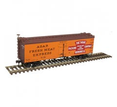 Atlas #20005801 36' Wood Reefer - Agar Packing Company #519