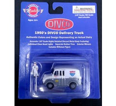 American Heritage Models #87-006 1950s Divco Delivery Truck - Melville Dairy Foods