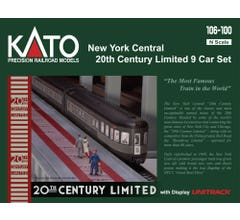 KATO #106-100 New York Central 20th Century Limited 9 Car Set