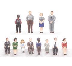 MTH #30-11016 12-Piece Figure Set #1