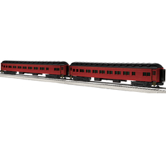 """Lionel #6-84196 Reading Blue Mountain & Northern 18"""" Heavyweight Coach 2 Pk #2"""
