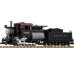 Piko #38244 Camelback Locomotive with Tender Reading (Digital with Sound and Smoke)