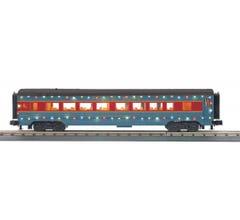 MTH 30-68206 North Pole 60' Streamlined Coach Car w/LED Lights