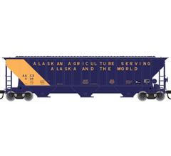 Atlas #50004715 Thrall 4750 Covered Hopper - State of Alaska #002