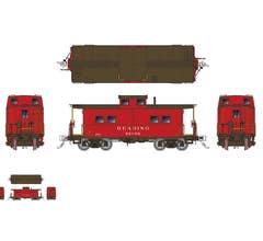 Rapido #144016 Northeastern-style Steel Caboose: RDG - As Delivered Scheme