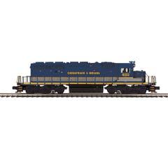 MTH #20-21167-1 Chesapeake & Indiana #6322 SD40-2 Diesel Engine With Proto-Sound 3.0