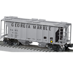 Lionel #6-85098 PS-2 Covered Hopper- Georgia Marble #31341