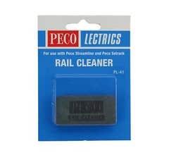 Peco #PL41 Rail Cleaner Abrasive Rail Cleaning Block
