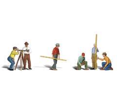 Woodland Scenics #A2741 Surveyors - 6pcs
