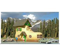 Bachmann #35209 Shoe House - Roadside U.S.A