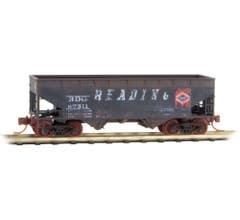 Micro Trains #05544470 2-Bay Hopper - Reading #87511