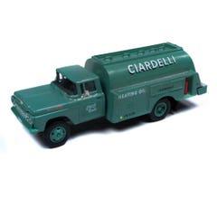 Classic Metal Works #30555 1960 Ford Tank Truck - Ciardelli Heating Co.