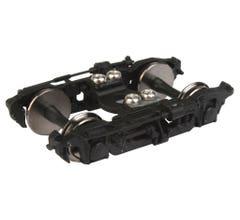 "Walthers #920-2102 GSC 41-HR Passenger Trucks w/36"" Metal Wheels - 1 Pair (Black)"