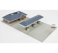 Walthers #933-3885 Modern Gas Station - kit