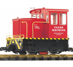 Piko #38506 Track Cleaning Diesel Switcher - Clean Machine R/C Battery Powered