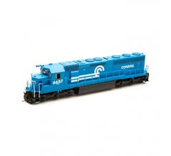 Athearn #G86224 SD45-2 w/DCC & Sound CR/Blue Early #6657