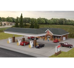 Walthers #933-3537 Modern Gas Station
