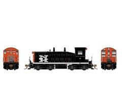 Rapido #27542 EMD SW1200 Locomotive w/DCC/Sound - New Haven #654