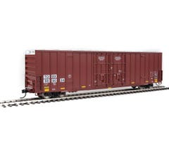 Walthers #910-3003 60' High-Cube Plate F Boxcar - TTX TOBX #889034