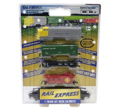 Bachmann #00958 Rail Express Freight Set (Battery Operated)