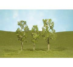 "Bachmann #32110 2.5"" - 2.75"" Aspen Trees four pieces per pack"