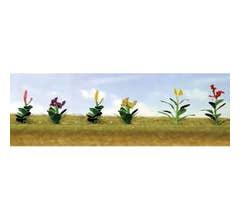 """JTT #95564 Flower Plants Assortment #4, 1"""" High (10/pk)"""