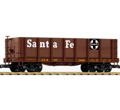 PIKO #38704 High Side Gondola - Santa Fe #24880