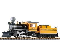 Piko #38225 D&RGW Mogul 2-6-0 Steam Locomotive #347 With Tender, Smoke & Sound